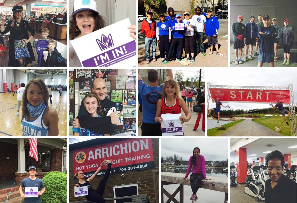 Charlotte Marathon Runners